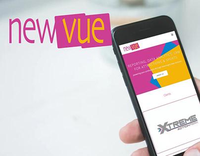 New Vue: Brand Creation & Website Design