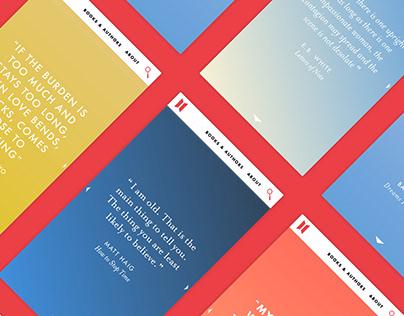 Canongate: Digital design and development