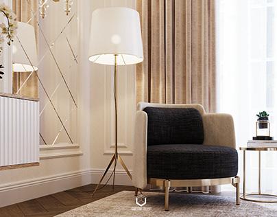 Renders CGI Luxury Bedrooms