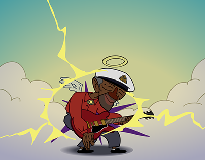 RIP Chuck Berry - Animation