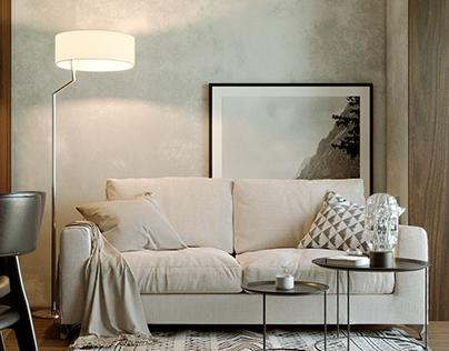 Design interior small studio