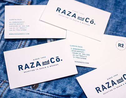 Raza and Co. Rebranding