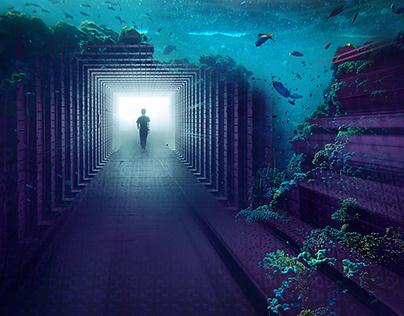 Inner Space - Digital Art by Andrew Kavanagh