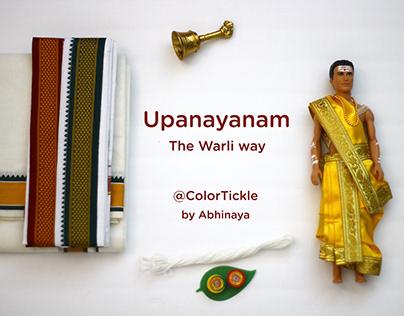 Upanayanam - Illustrated Tambrahm Invitation