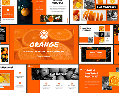 Orange - Powerpoint Presentation Template