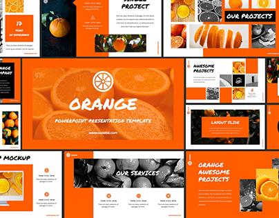 Orange - Powerpoint Presentation Template