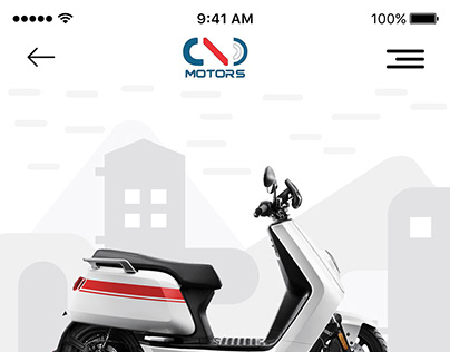 E-bike 22 KYMCO Motor APP Design