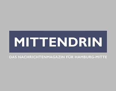 Mittendrin - Nachrichtenmagazin | Corporate Design