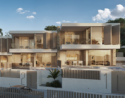RESIDENTIAL AREA IN IBIZA