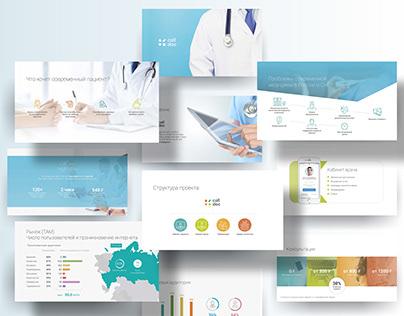 Presentation for medical company