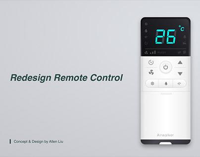 Redesign Remote Control Study Case