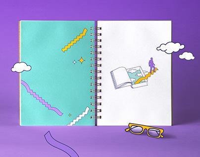 Bookfair Illustrations