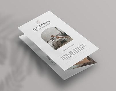 Bahama Photography Trifold Brochure