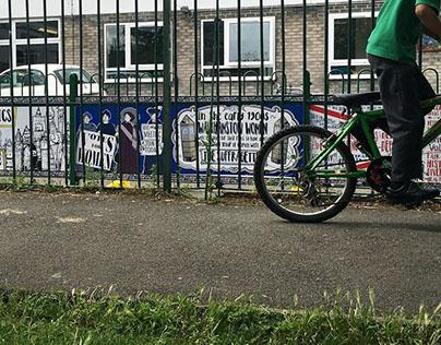 Stoneydown Primary School Mural