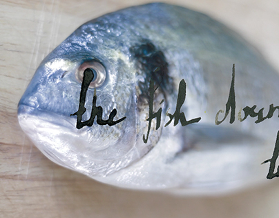 This is a fish calligraphy