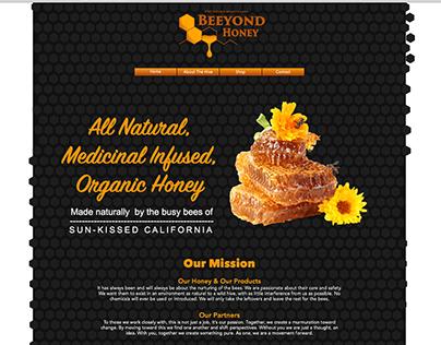 Beeyond Honey Web Design
