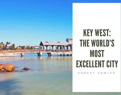 Robert Vowler   Key West: The World's Best City