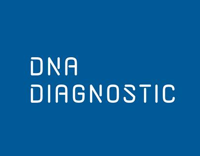 DNA Diagnostic - Logo & identity design