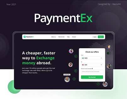 PaymentEx- Website Design