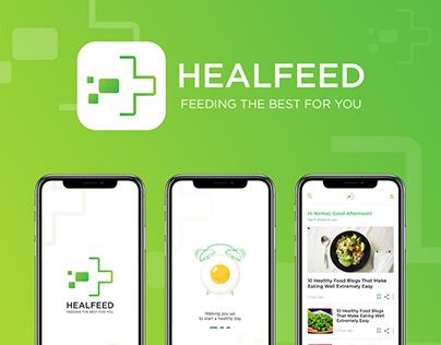 HEALFEED Mobile Application Concept