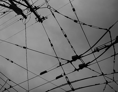 MUNI cables shot in San Francisco