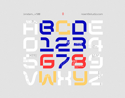 Inndam Variable Typeface