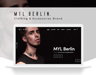MYL Berlin - Ecommerce Website