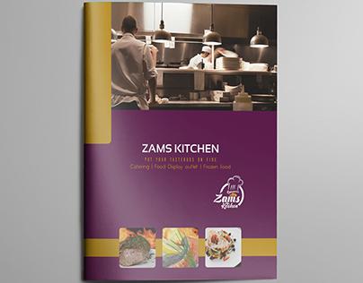 Brand Profile 'Zams Kitchen'