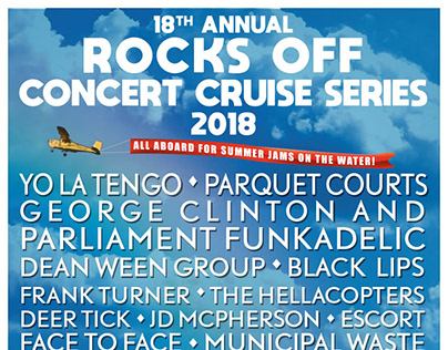 Rocks Off Concert Cruise 2018 Poster