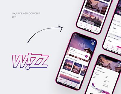 WIZZAIR. Mobile App Redesign Concept