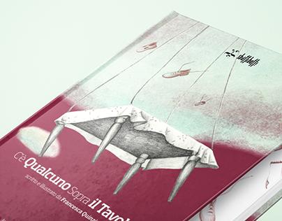 C'è Qualcuno Sopra il Tavolo - Book Design
