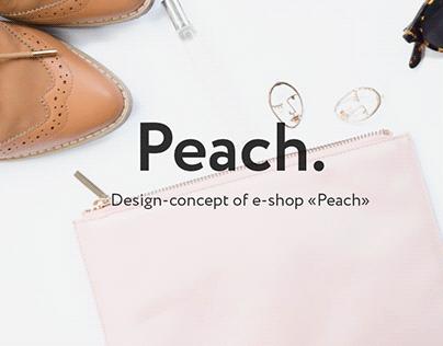 """E-shop """"Peach"""""""