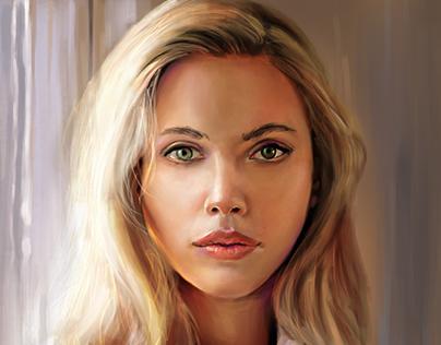 Scarlett Johansson Study