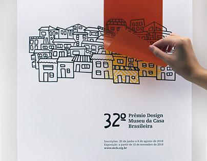 Cartaz 32º Prêmio Museu da Casa Brasileira