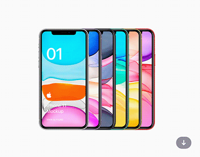 Freebie iPhone 11 Mockup - PSD