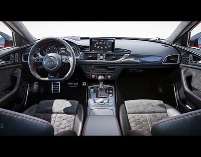 Audi RS 6   CGI