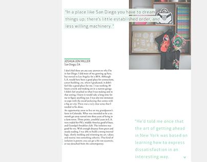 Astray - digital magazine