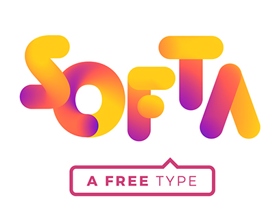 Free SOFTA FONT | Instagramic colors