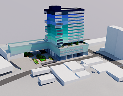 Edifício Vertical de Uso Misto
