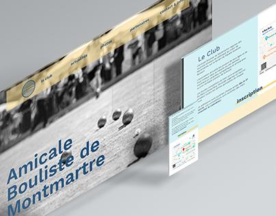 AB Montmartre - refonte / webdesign