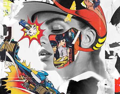 Collage Artwork 301-304