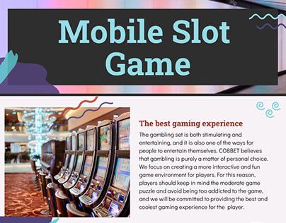 Mobile Slot Game Malaysia