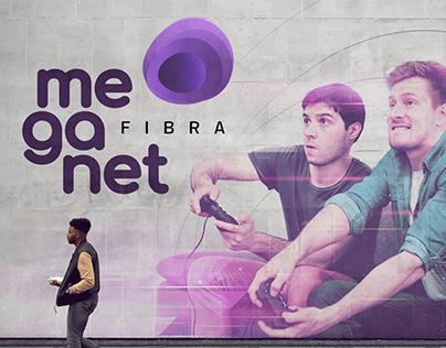Meganet Fibra - Identidade Visual