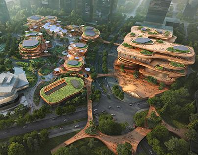 Shenzhen Terraces by MVRDV begins construction