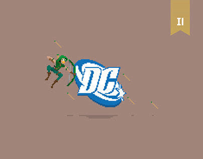 Pixel Art_DC Characters