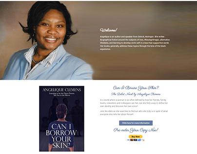 Angelique Clemens Website