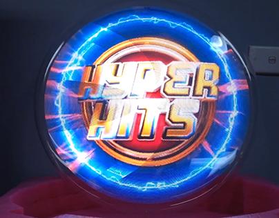 Hyper Hits - 3D Holographic LED Fan