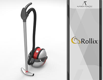 Rollix RX-1 Vacuum Cleaner Concept