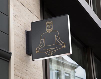 Yoguy Male Yoga Studio Logo and Branding
