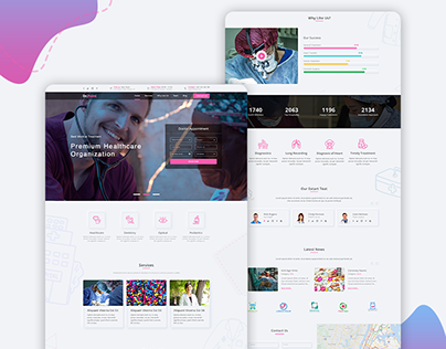 Medical & Healthcare Landing Page Template